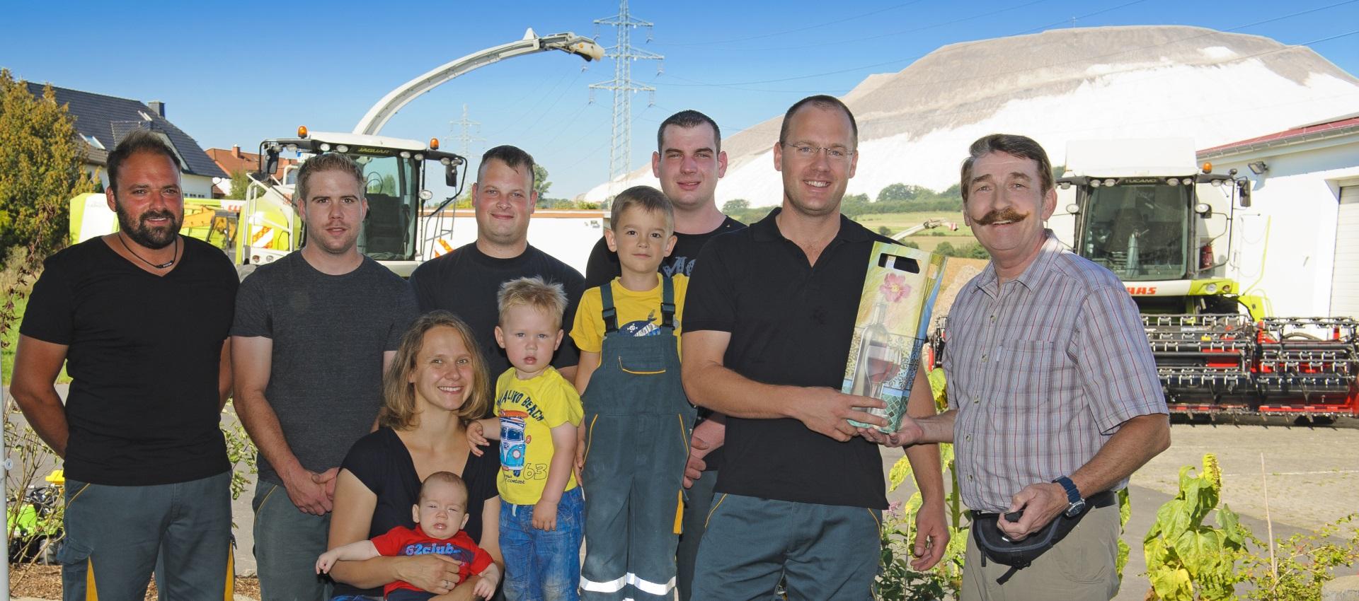 Dienstleistungen für Landwirte
