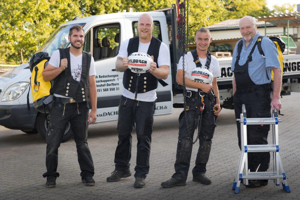 Inhaber Mathias Goldbach (2. von links) und sein Team. Foto: Fotostudio Lippert