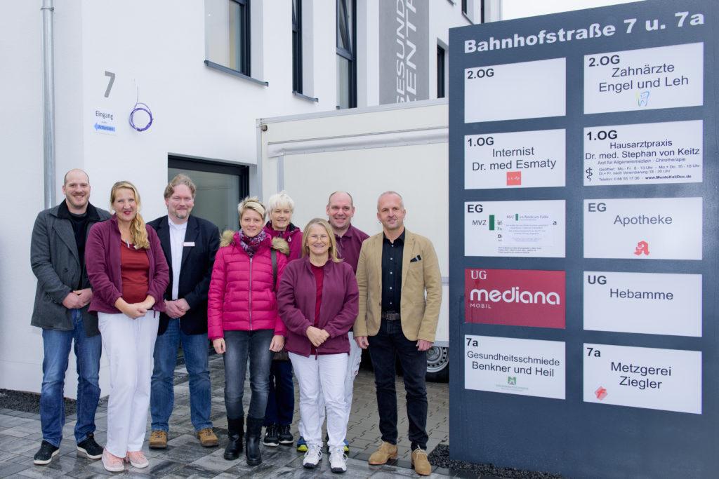 Mediana Mobil ist in das Gesundheitszentrum Neuhof umgezogen. Foto: Fotostudio Lippert